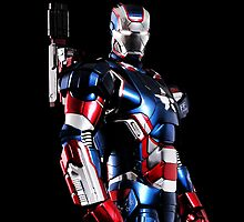 iPhone case - Iron Man ( Iron Patriot ) - Apple iPhone case by beecase