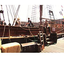 TALL SHIP IN LIVERPOOL Photographic Print