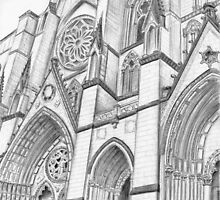 Cathedral of St. John the Divine by Nicole Mule'