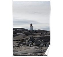 Peggy's Cove from afar Poster