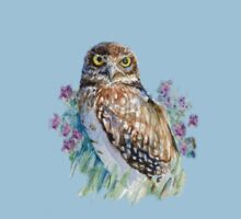 Owl in lavender  T-Shirt