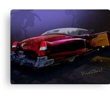 Cadillac Biarritz Convertible Daddy's Caddy Must Have Been Moonglow Canvas Print