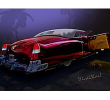 Cadillac Biarritz Convertible Daddy's Caddy Must Have Been Moonglow Photographic Print