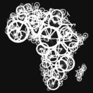 Africa T - (Black) by redbikegreen