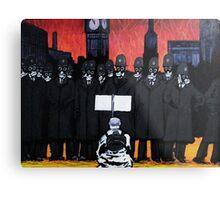Panic on the streets of london Metal Print