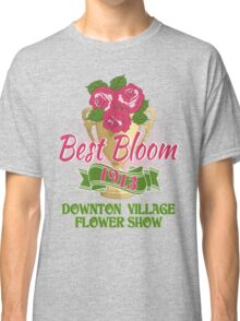 Downton Abbey Inspired - Downton Village Flower Show - Best Bloom - Grantham Cup Trophy Classic T-Shirt