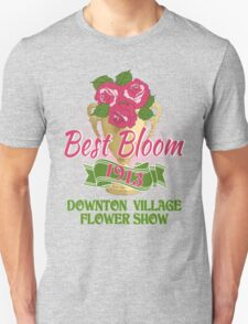 Downton Abbey Inspired - Downton Village Flower Show - Best Bloom - Grantham Cup Trophy T-Shirt