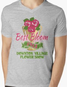 Downton Abbey Inspired - Downton Village Flower Show - Best Bloom - Grantham Cup Trophy Mens V-Neck T-Shirt