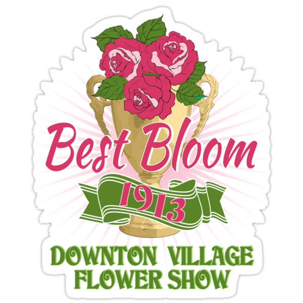 Downton Abbey Inspired - Downton Village Flower Show - Best Bloom - Grantham Cup Trophy by traciv