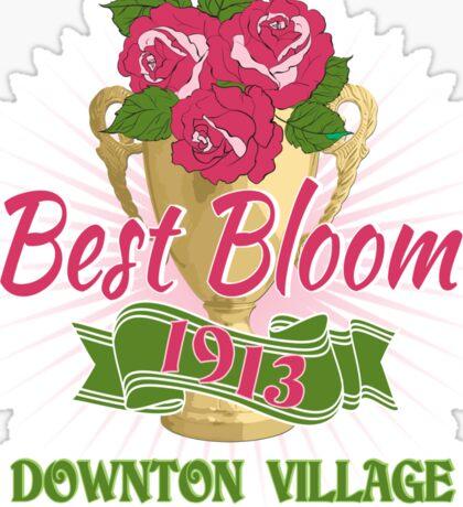 Downton Abbey Inspired - Downton Village Flower Show - Best Bloom - Grantham Cup Trophy Sticker