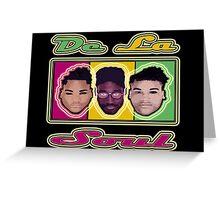 """""""HIP-HOP ICONS: DE LA SOUL""""  Greeting Card"""