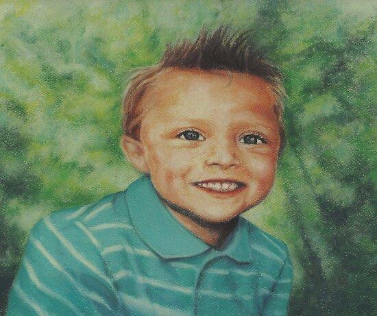 Little Boy by Pam Humbargar