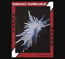 Alabaster Nudibranch Shirt by naturediver