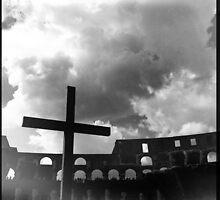 Colosseum Cross  by hyper21