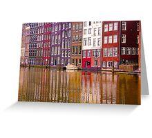 Amsterdam 9 Greeting Card