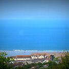 View over Woolacombe. by Livvy Young