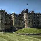 Alnwick Castle Inner by Andrew Pounder