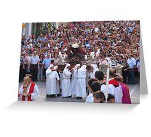 Jesus We Believe In You Greeting Card
