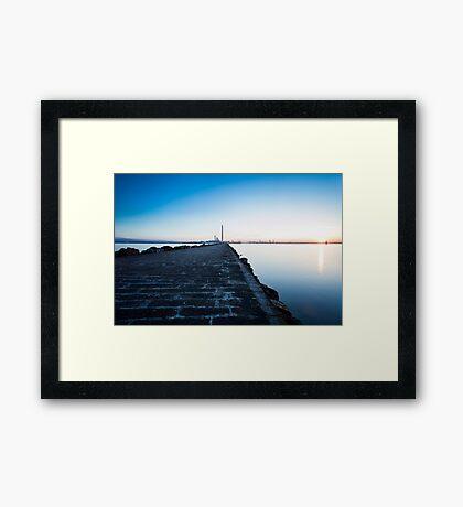 South Wall, Dublin Framed Print
