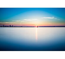 Sunset in Dublin  Photographic Print