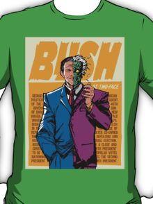 Real Life Supervillains - Two-Face President T-Shirt