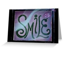 Smile and Sparkle Greeting Card