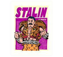 Real Life Supervillains - The Soviet Hunter Art Print
