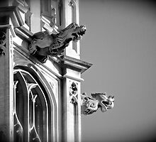 Gargoyles of Westminster by Kent Burton