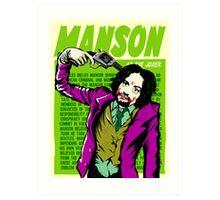 Real Life Supervillains - Clown Prince of Crime Art Print