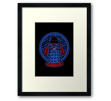 Up, Up, Away, and Exterminate!! Framed Print