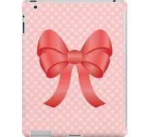 Cute Red Bow iPad Case/Skin