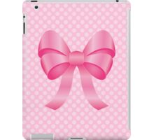 Cute Pink Bow iPad Case/Skin