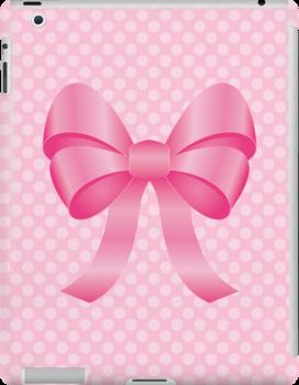 Cute Pink Bow by destei