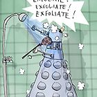 dalek showers by Loui  Jover
