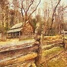 Cades  Cove - Old Settlement by JHRphotoART