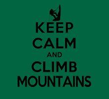 Keep Calm and Climb Mountains(LS) T-Shirt