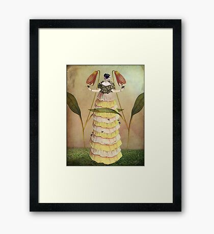 Queen B. Framed Print