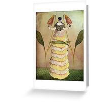 Queen B. Greeting Card