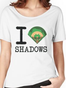 I ♦ Shadows (Light Version) Women's Relaxed Fit T-Shirt