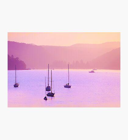 Mauve Days And Warm Summer Nights Photographic Print