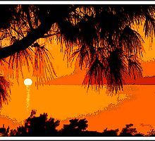 Bermuda Sunset by MariarosaR