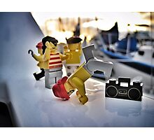 Pirate Practice: Breakdance! Photographic Print