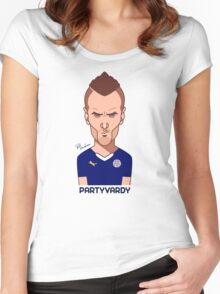 Jamie Vardy Women's Fitted Scoop T-Shirt