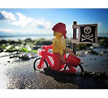 Pirate practice: beach cruising Photographic Print