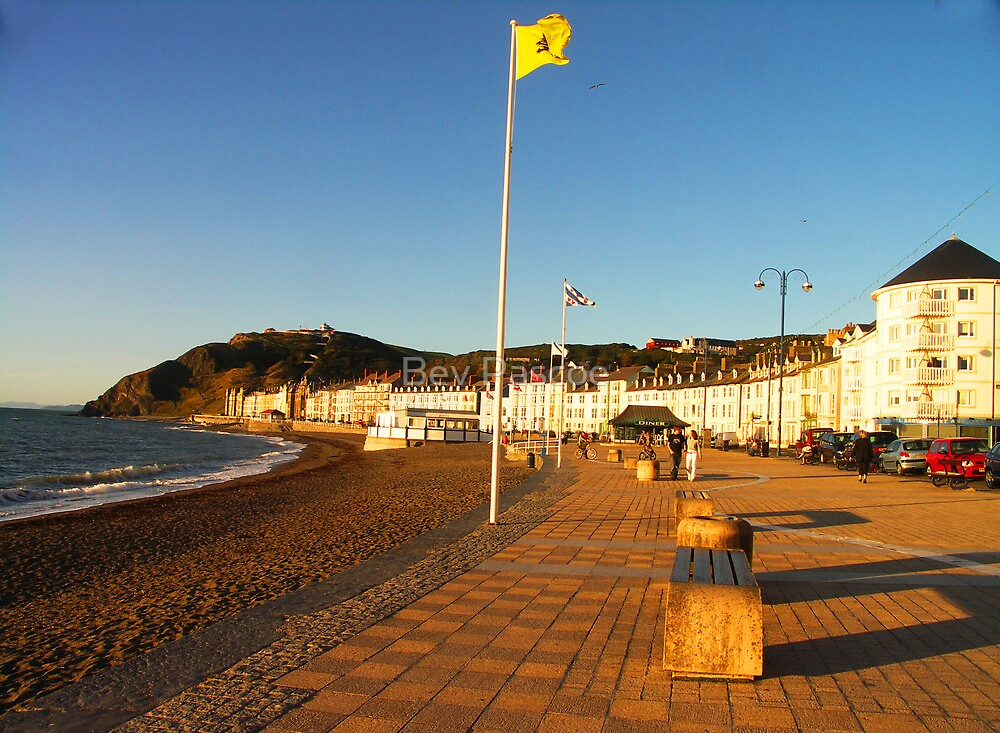 Aberystwyth Foreshore - Wales UK by Bev Pascoe