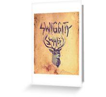 SWIGGITY SWAG I'M A STAG Greeting Card