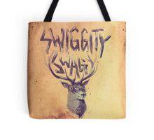 SWIGGITY SWAG I'M A STAG Tote Bag