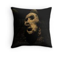 Pietra Volto Throw Pillow