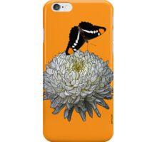 Queen Butterfly - Orange iPhone Case/Skin