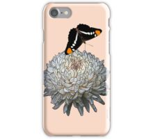 Queen Butterfly - Peach iPhone Case/Skin